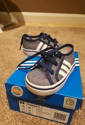 Infant Boys Adidas Nizza Lo pumps size 3K