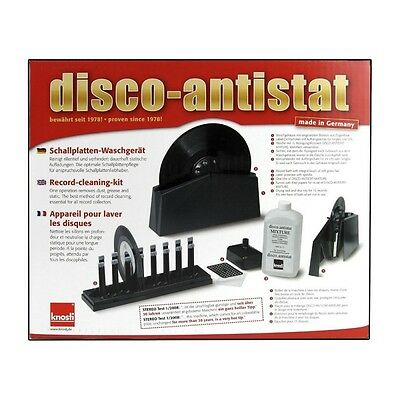 Knosti Disco Antistat Record Cleaning Machine | Free Stylus Cleaning Brush