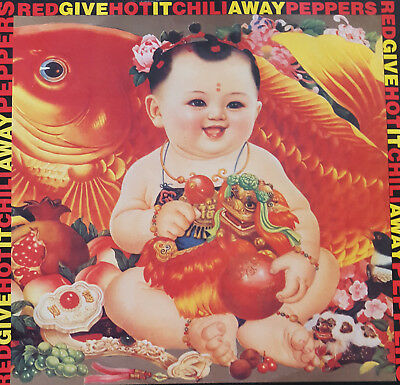 """Red Hot Chili Peppers – Give It Away 12"""" Vinyl"""