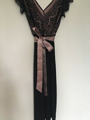 Black Tiffany Rose Maternity Dress size 1