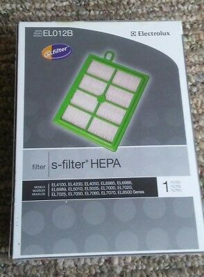 Electrolux, S-Filter HEPA, Genuine, EL012B Disposable Filter