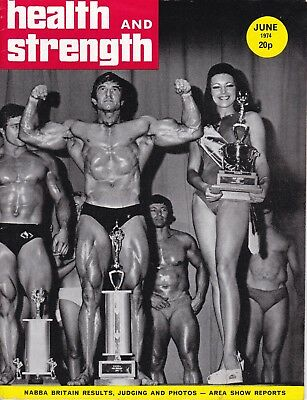 Health And Strength Bodybuilding Magazine June 1974