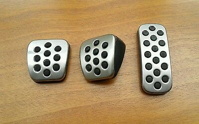 Vauxhall Insignia SRI / VXR Alloy Pedal Covers Set - Genuine (Ref. 01)
