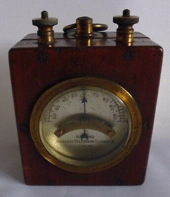 Marconi`s Galvanometer Wireless Telegraph Company Ltd. London - Circa 1901