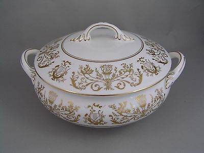 COALPORT ALLEGRO LIDDED VEGETABLE, slight a/f.