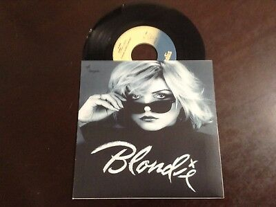 Blondie *atomic* 7'' 1980 Portuguese Edition Nm