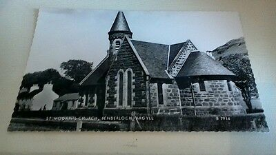 Valentine's Postcard 'St.Monan's Church,Benderloch Argyl' unused Scotland
