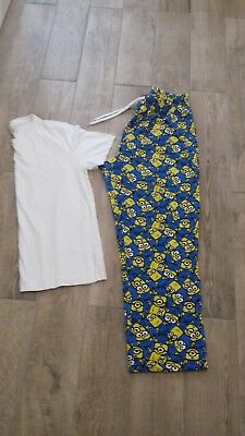 mens size large minions pyjamas