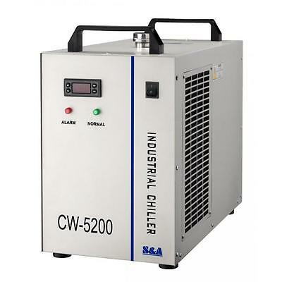 CW-5200 Industrial Water Chiller CNC/CO2 Laser Cutter/Engraver CW5200 US Seller