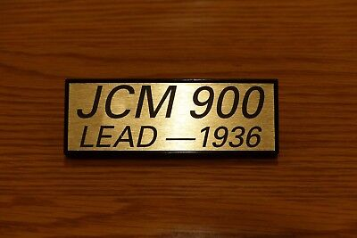 Marshall JCM 900 Lead 1936 2x12 Speaker Cab Badge Logo