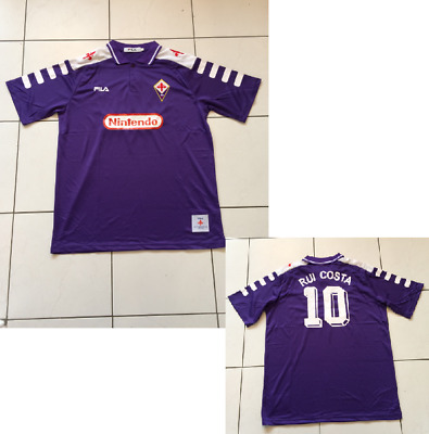 Fiorentina RUI COSTA Shirt 1998 jersey Football PORTUGAL EXTRA LARGE SHORT SLEEV