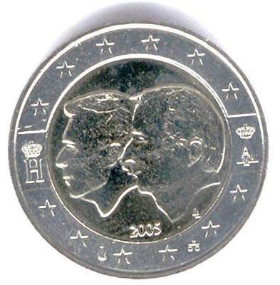 Belgium 2005 - 2 Euro Commemorative G/Duke Henri-L & King Albert-B (Circulated)