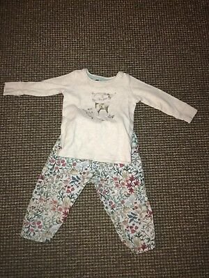 Next Woodland Pyjamas 9-12 Months