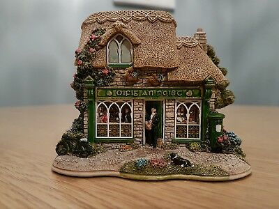 Lilliput Lane Morning Post Ornament With Deeds