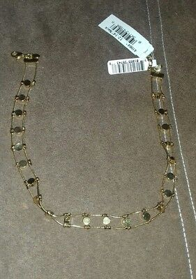 New monet gold tone necklace