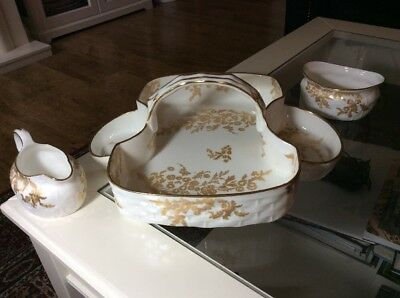 Hammersley Fine Bone China 'strawberry Tea' Serving Set - Ex Condition