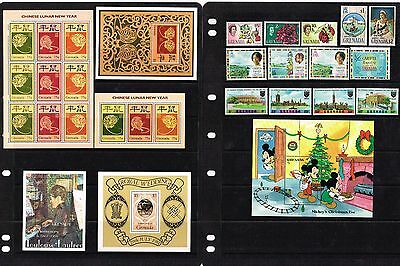 GRENADA - COLLECTION OF SETS/MIN SHEETS MINT NEVER HINGED (11 SCANS) (col3a)