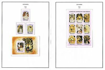 Grenada - 1997 Collection Of Sets/min Sheets Mint Never Hinged (11 Scans)