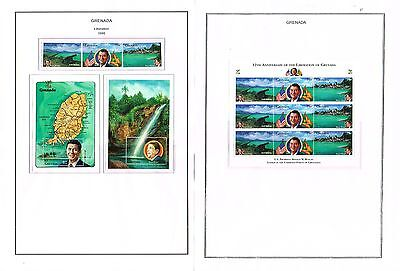 Grenada - 1994/1995 Collection Of Sets/min Sheets Mint Never Hinged (12 Scans)