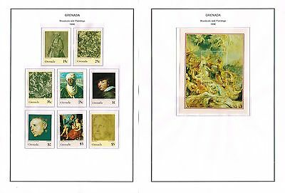 Grenada - 1996 Collection Of Sets/min Sheets Mint Never Hinged (12 Scans)