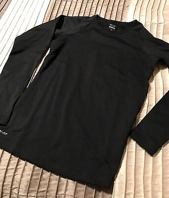 Nike Pro Hyperwarm Dri-FIT Crew Training Top, NEW, Womens,Medium, Black