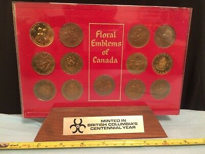 Victoria British Columbia Centennial Trade Tokens