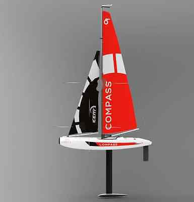 Red New Length 65cm 2.4G Remote Control Sailing Ship Children's Gift Toys  #