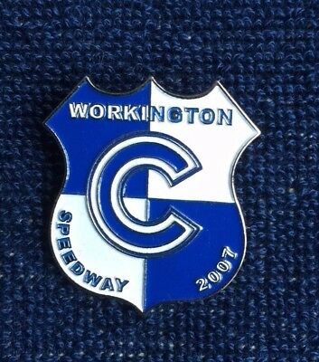 Speedway badge Workington 2007