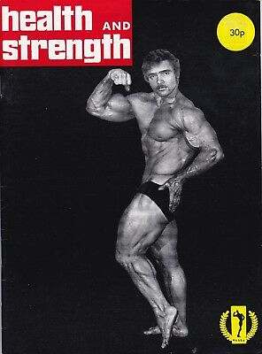 Health And Strength Bodybuilding Magazine 1975 Vol 104 No 3 Steve Reeves Pose