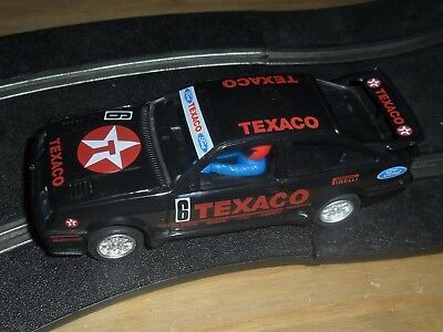 Scalextric rare vintage Ford Sierra Cosworth XR4i touring car # 6 Superb & fast
