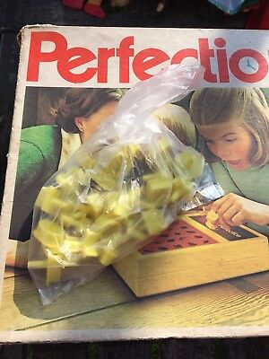 Vintage Plastic  Perfection Game Shapes