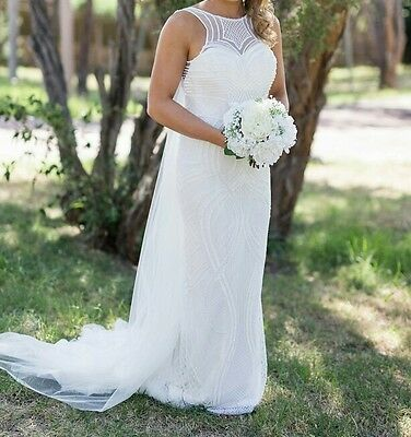 Couture wedding dress size 8 - 10