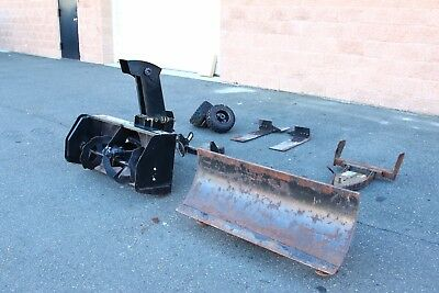 """40"""" Snow Blower and Plow Attachment for Scag Mowers, Snowthrower, Snowblower ATV"""