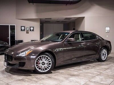 2014 Maserati Quattroporte S Q4 Sedan 4-Door 2014 Maserati Quattroporte S Q4 28k miles Alcantara Heating Pkg LOADED PERFECT