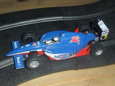 Scalextric vintage Mobil 1 Indy /  F1 / F3 car # 5 SUPERB & fast