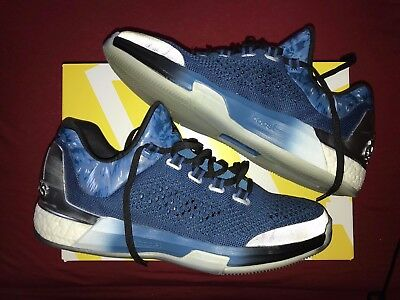 """Adidas Crazylight Boost 2015 """"Andrew Wiggins"""" US Mens Size 11.5"""