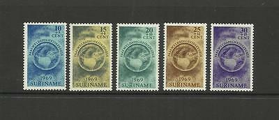 Netherland Suriname ~ 1969 Easter Charity Set (Mh)