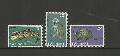 Netherland Suriname ~ 1969 Opening Of Surinam Zoo (Mh)