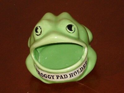 VINTAGE FROG SCRUBBER SOAP HOLDER PAD mcm FREE SHIP TAIWAN ROC