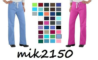 Urbane Womens Scrubs Essentials Relaxed Leg Drawstring Pants 9502 All Color/Size