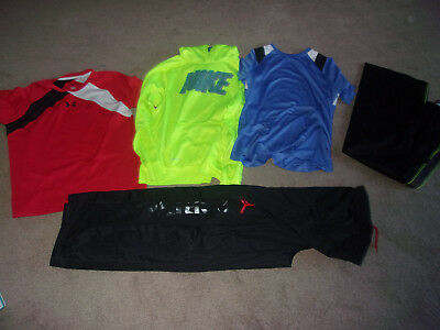 Boys Size XL Lot Nike Under Armour Hoodie T-Shirt Sweatpants Starter XL 14 16