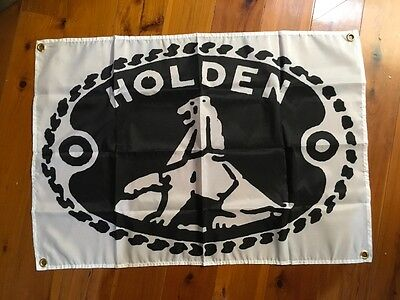 Holden vintage  GMH pool room flag sign 3x2 ft man cave flag GMH garage art