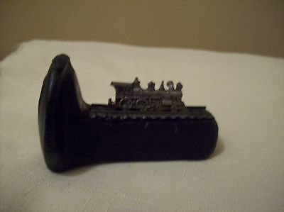 Vintage Rail Road  1/2 Spike with Train on Top