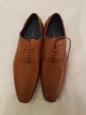 Mens dressy shoes UK Size 10, brown