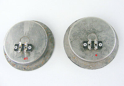2X Stc Coles 4001G Hf Tweeter 16Ω Original 1974 Tested Gwo 4 Way Audio Labyrinth