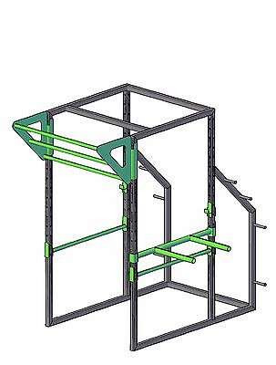 Power rack squat cage build plans