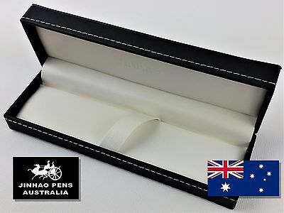 JINHAO Black Fuax Leather Fountain Pen Gift Box with Padded Interior - B20
