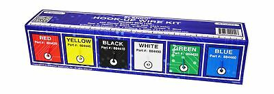 Elenco Solid Hook-Up Wire Kit 6 Colors in A Dispenser Box # WK-106 New
