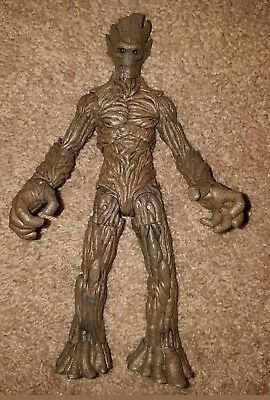 Disney Store Exclusive Groot Guardians Of The Galaxy Marvel Diamond Select Loose