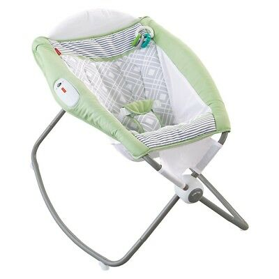 New! Fisher Price Newborn Rock 'N PLay Sleeper - Green